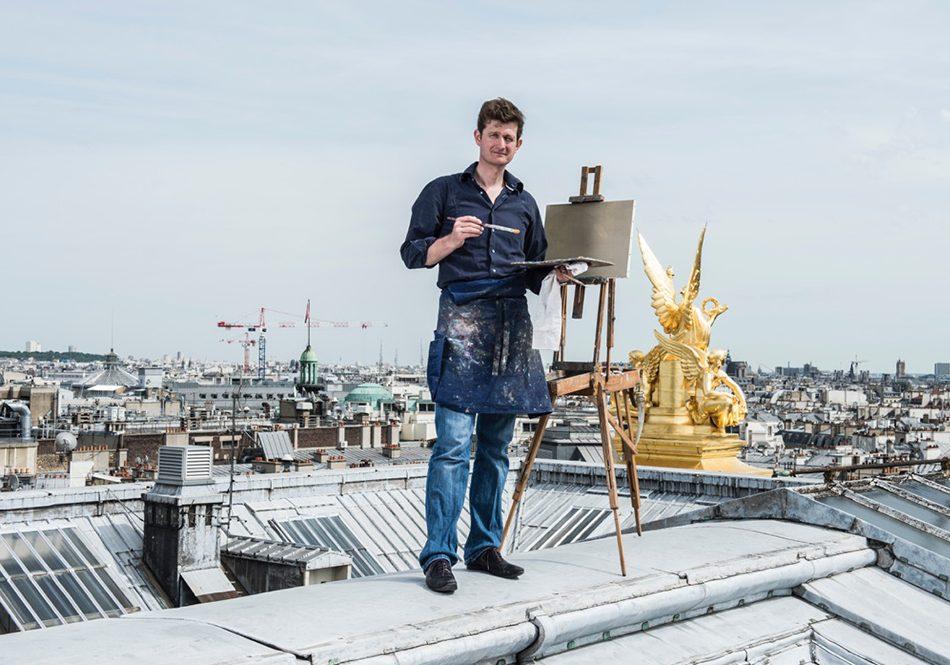 Bertrand de Miollis, artiste peintre et grand voyageur.