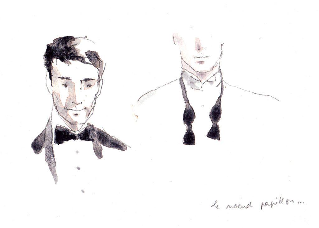Illustration pour le lancement d'Eau Sauvage de Dior